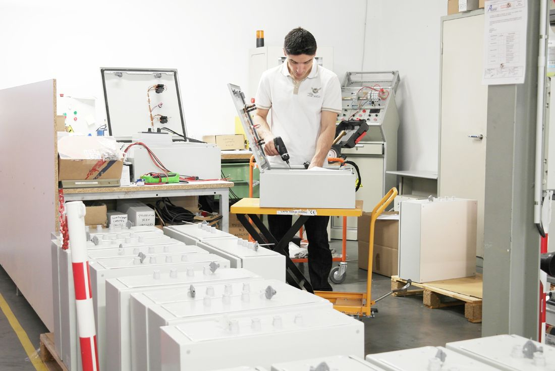 Un contrôle permanent de tous les produits sortant de production