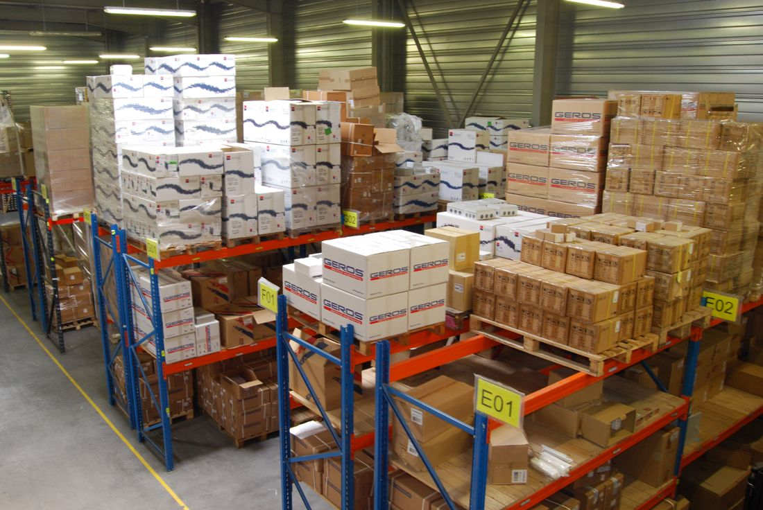 1600m² de stockage chez Solu-Watt