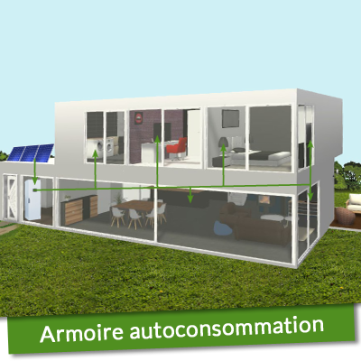 Armoire autoconsommation