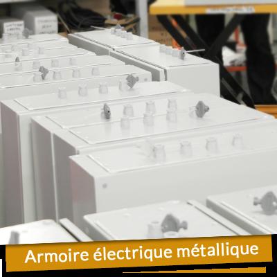 Armoire électrique métallique