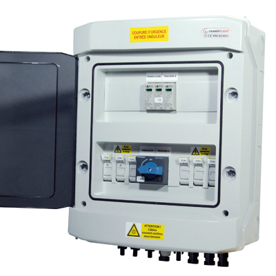 Coffret de protection DC de 3 à 5 chaines photovoltaique