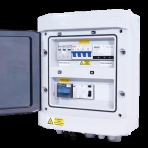 Coffret de protection AC-DC triphasé / de 6kVA à 9kVA