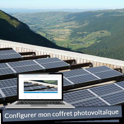 Configurateur de coffret photovoltaique sur mesure
