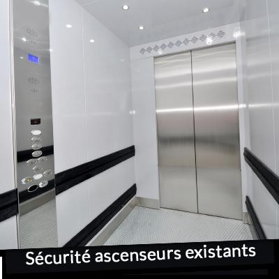 Sécurité ascenseurs existants