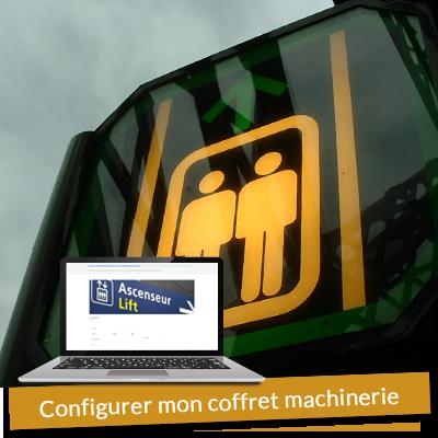 Configurateur de coffret machinerie sur mesure pour ascenseur