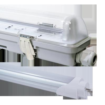 Réglette LED + tube LED dimmable